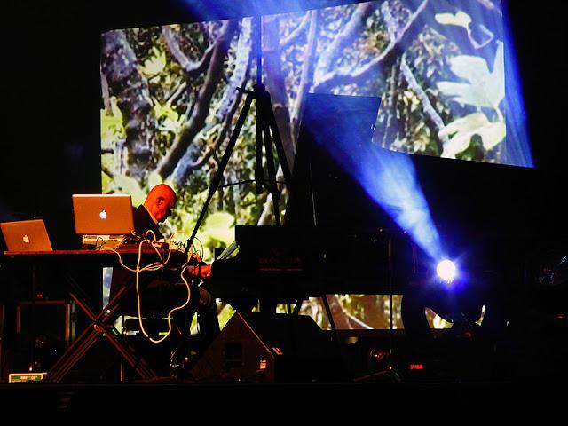 Hans-Joachim Roedelius live @ Electronic Circus 2016 / photo S. Mazars