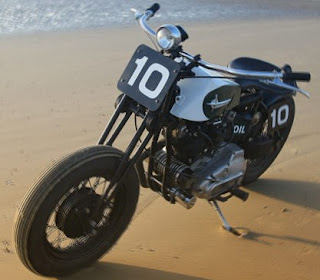 sportster xlch beach racer old school bobber