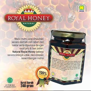 royal honey madu alami produk nasa