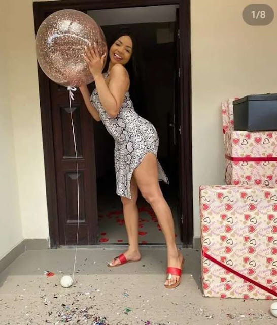See what BBnaija star, Nengi received from Ozo and also her fans(Pictures)