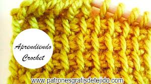 Aprende a tejer CROCHET TUNECINO en uno y dos colores / Tutoriales