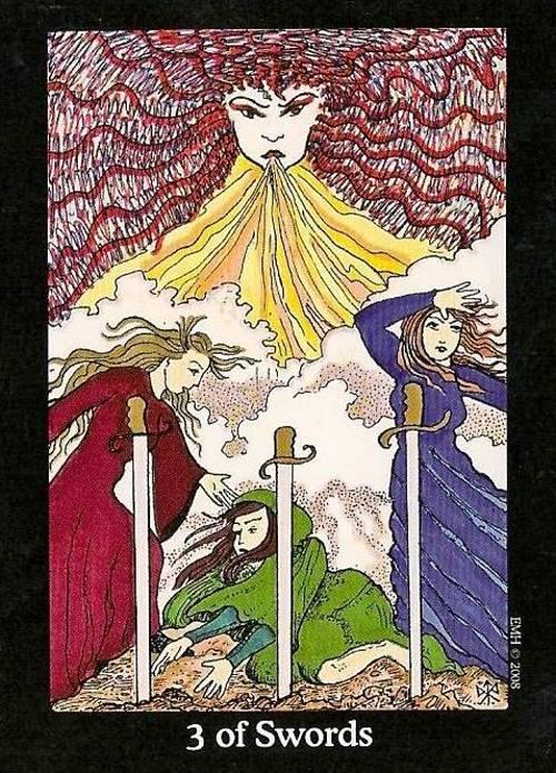 Tarot Notes 3 Of Swords Astrological Associations