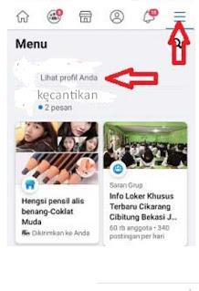 Cara Menyalin Link Profil Facebook Kita di Android