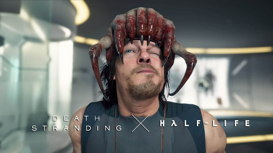 death stranding half life crossover sam porter bridges norman reedus pc release date open-world action strand game kojima productions 505 games epic store steam half life crossover