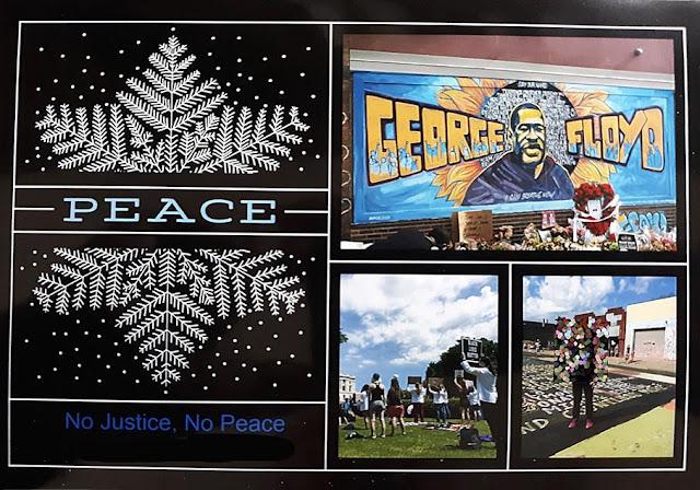 stilton's place, stilton, political, humor, conservative, cartoons, jokes, hope n' change, Christmas, Christmas card, George Floyd, BLM, No Justice No Peace