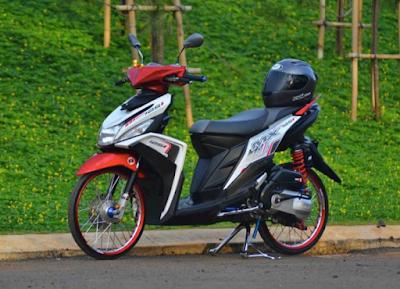 Modifikasi Jari-jari Motor Mio M3