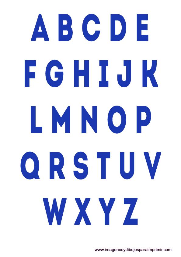 Letras de colores para imprimir   Imagenes y dibujos para imprimir