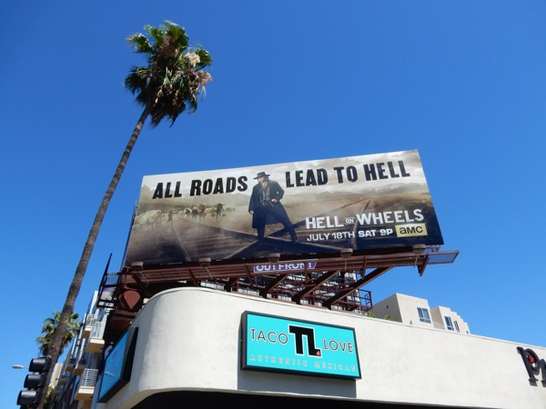 Hell on Wheels final season 5 billboard