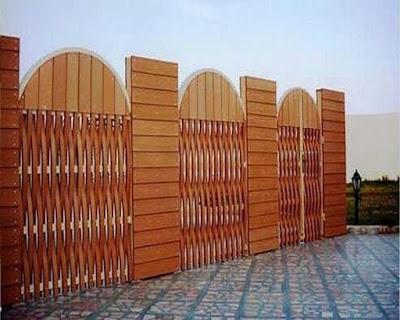 تركيب سواتر خشبية باعلى المواصفات واجمل الاشكال