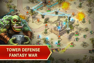 Toy Defense Fantasy Towers Mod Apk 1.27 (Data OBB)