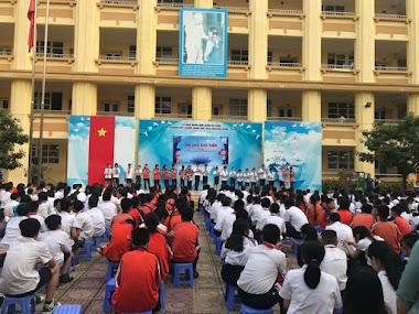 Diễn giả Nguyễn Quốc Chiến chia sẻ về Phòng chống xâm hại tại trường Nguyễn Công Trứ