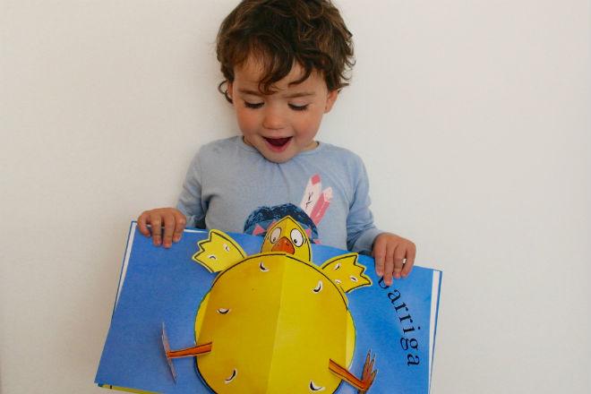 libro infantil pollo pepe, cuento niños a partir 1 año