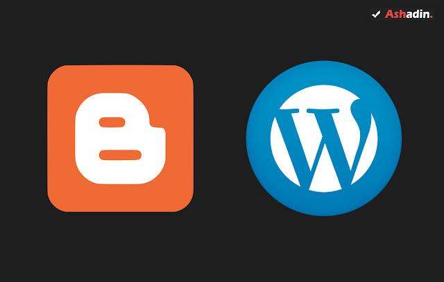 Wordpress atau Blogger? bagusan yang mana untuk memulai ngeblog