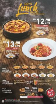 pizza hut promotion, pizza hut sedap, pizza hut menu price