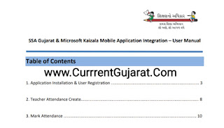 SSA Gujarat & Microsoft Kaizala Mobile Application Integration – User Manual