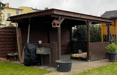 altes Dach mit Bitumen