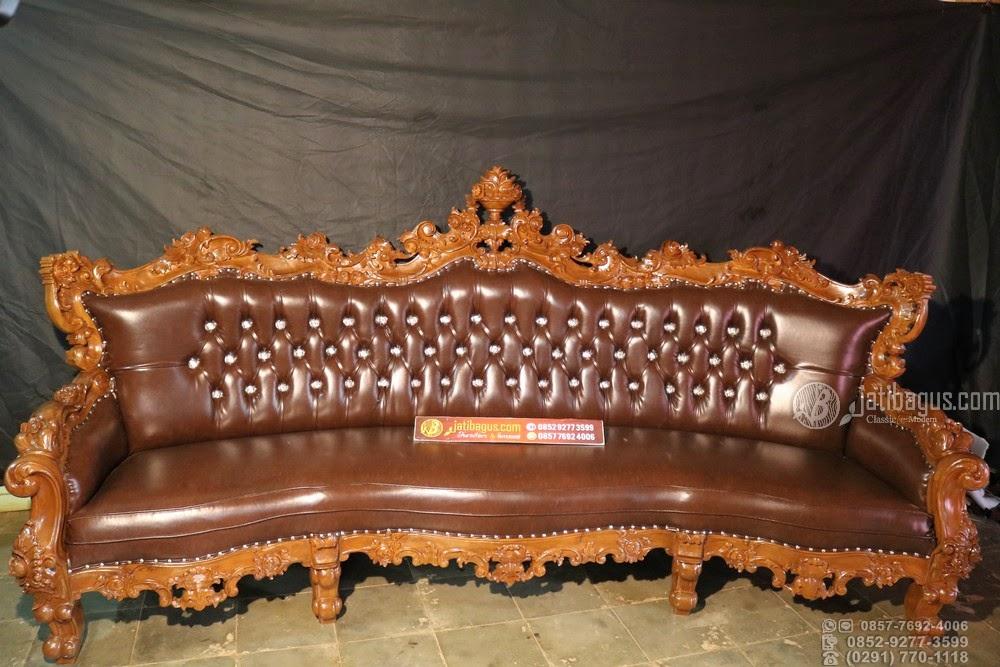 Set Kursi Tamu Sofa Ukir Custom Cianjur