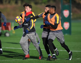 Four Players Join the Arsenal First Team Ahead of Boxing Day Clash