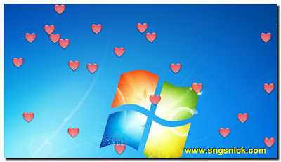 DesktopSnowOK 3.06 - Сердечки