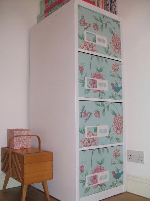 Stitch And Bake Diy Decorative Filing Cabinet
