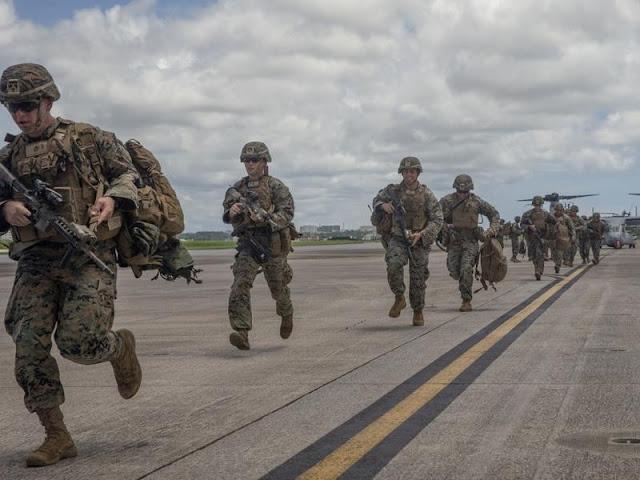 12.000 Tentara Amerika Sudah Tiba di LCS, China Takut