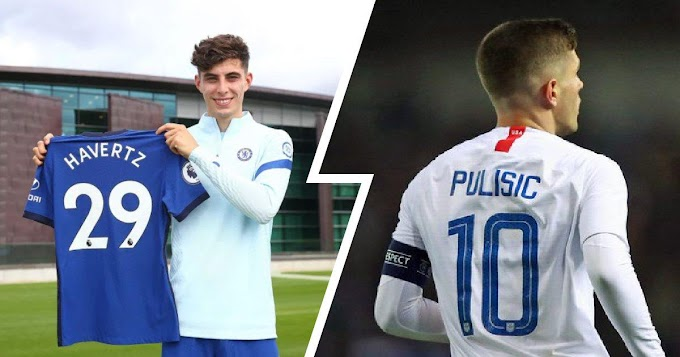 Chelsea release squad numbers for 2020/21 season as Pulisic claims no.10 shirt