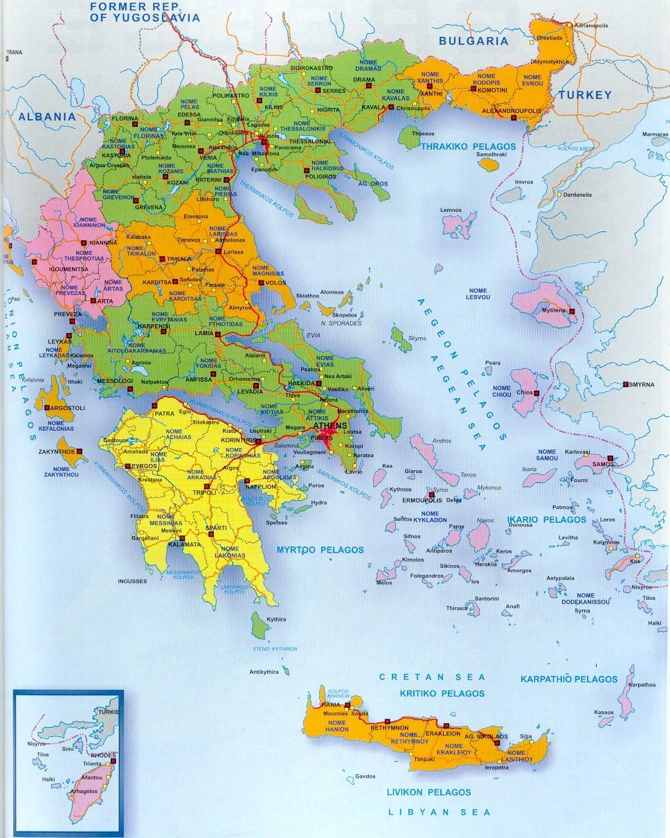 görögország domborzati térkép Online térképek: Görögország térkép görögország domborzati térkép