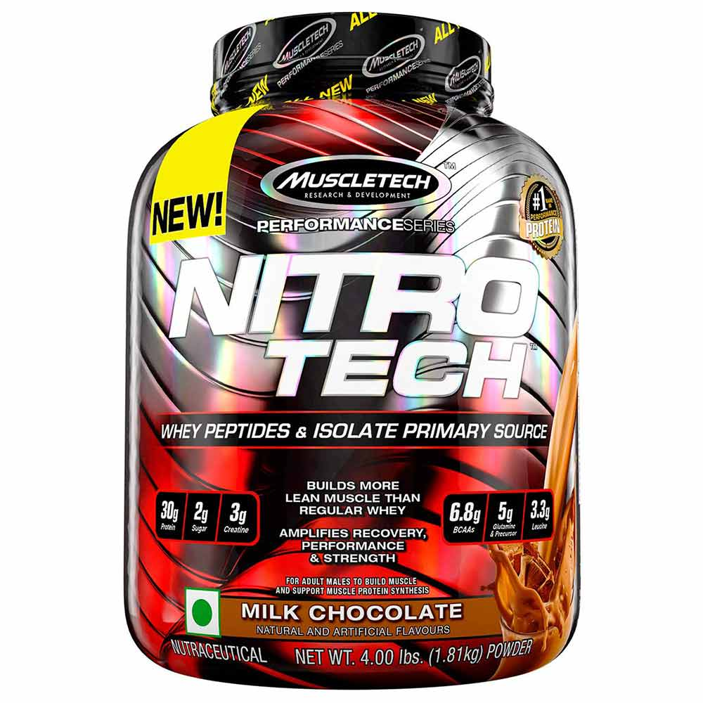MuscleTech NitroTech Performance Series, 4 lb