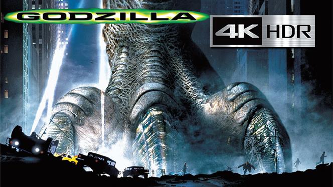 Godzilla (1998) 4K UHD [HDR] Latino-Castellano-Ingles