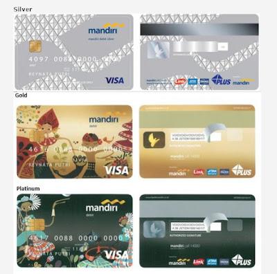 Pilihan Kartu ATM Mandiri Chip Visa