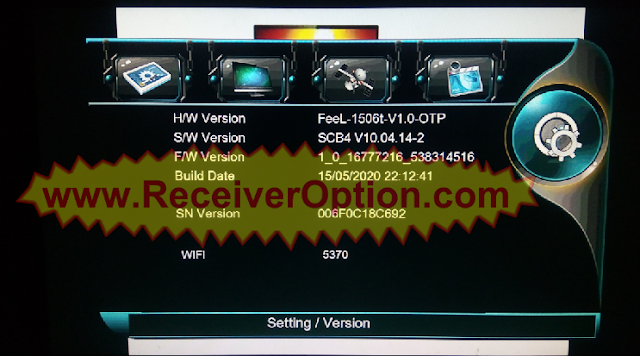 1506T 512 4M NEW SOFTWARE WITH LION IPTV & G SHEARE PLUS OPTION