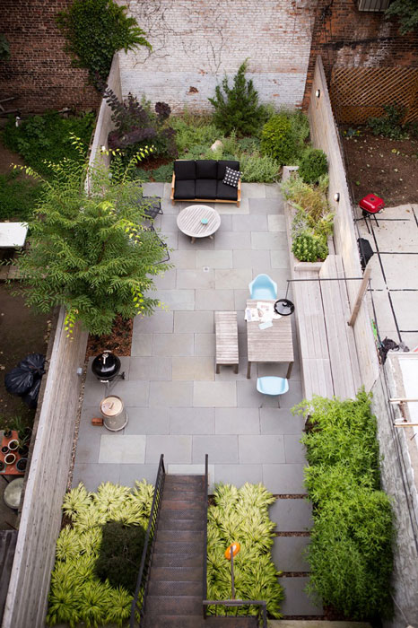 10 Classic Layout Plans for Townhouse Garden Renovations