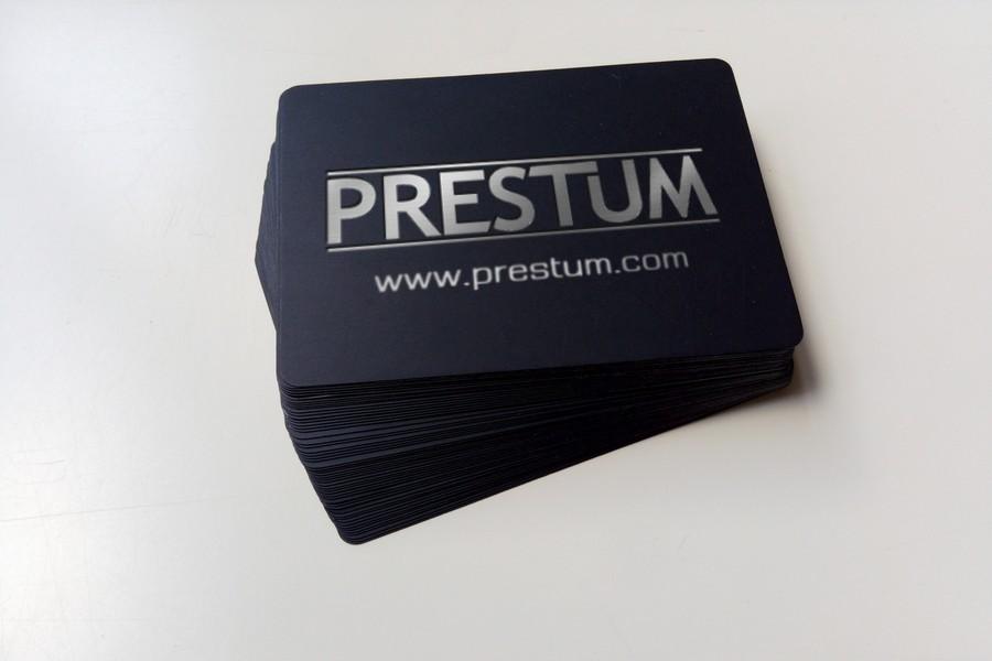 Prestum Mock Brand Card