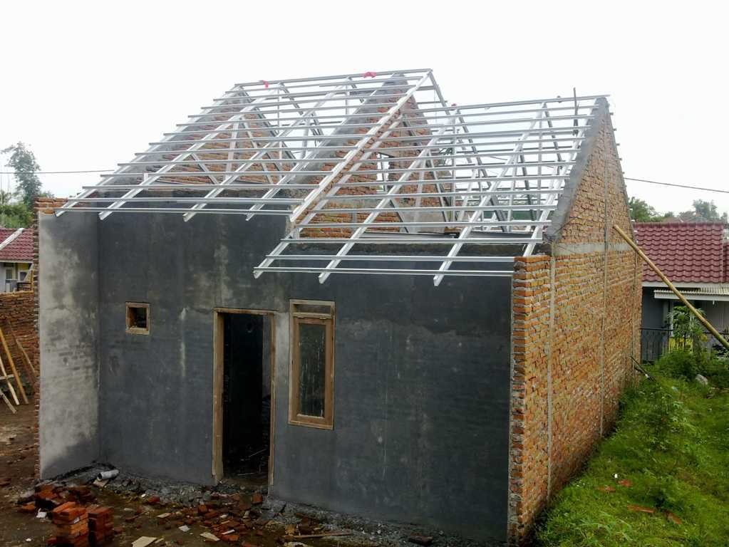 Rumah Minimalis Modern Tentang Rangka Atap Baja Ringan