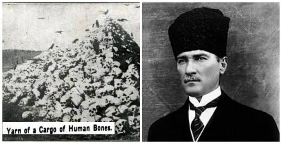 They Sold the Bones of Greeks And Armenians Who Were Killed in Turkey. 400 Tons Of Bones Were Transferred to France for Industrial 'Use'