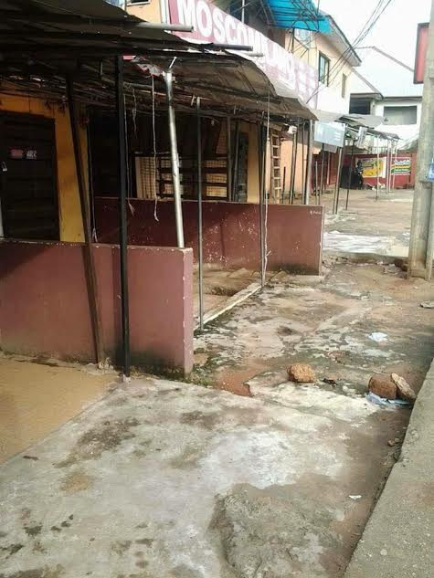 """d - Photos: Streets deserted as South East residents obey IPOB leaders """"Sit at home"""" order"""