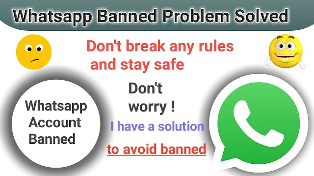 How to avoid whatsapp account banned || How to unbanned Whatsapp Account in 2019