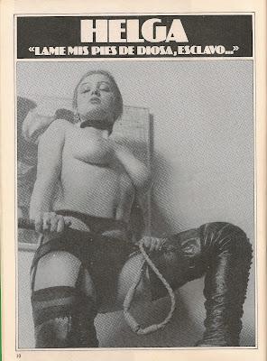revista de sadomaso bdsm muñeca sady 1982