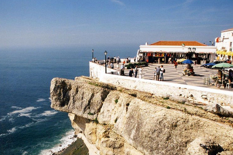 The promontory, at Nazare