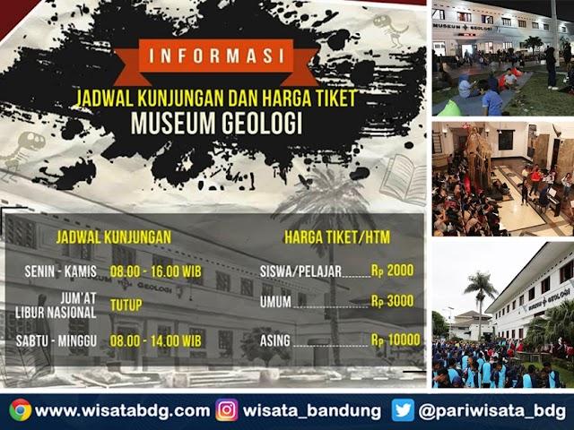 Info Jam Buka dan Harga Tiket Masuk Museum Geologi Bandung 2019