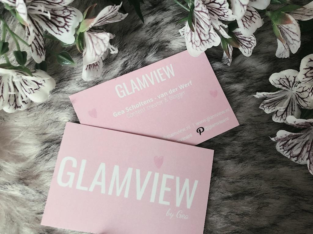 Visitekaartjes Glamview