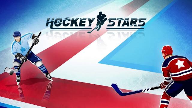 Hockey Stars Game Interface
