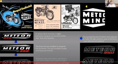 Screen shot shows historic Meteor ads.