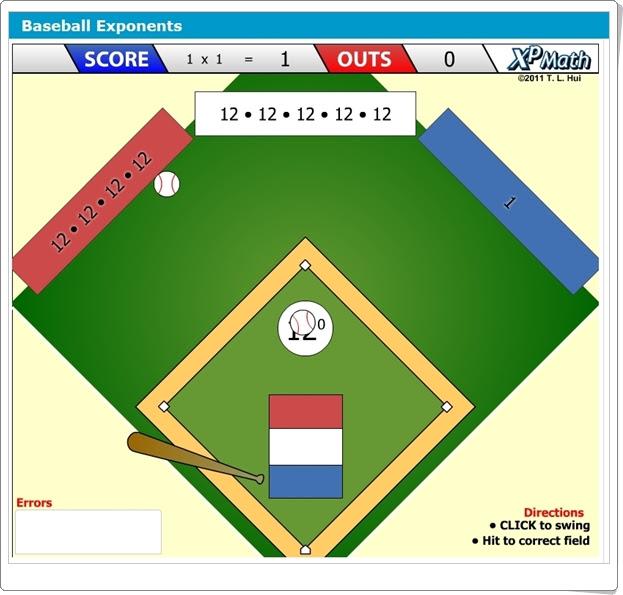 """""""Baseball Exponents"""" (Juego de Potencias)"""