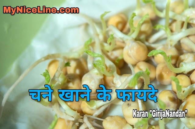 चने खाने के 7 फायदे| भुने चने| Benefits Of Chickpeas Or Gram In Hindi