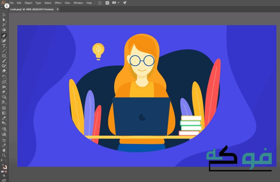 شرح ومميزات  برنامج الاليستريتور adobe illustrator cs6 full