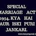 Special marriage act kya hai iski puiri jankari in hind