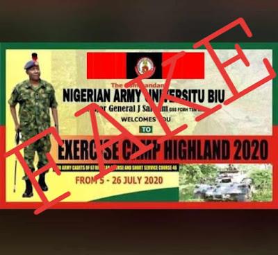 NAUB is not a Military Institution like NDA [Beware of Fake News]