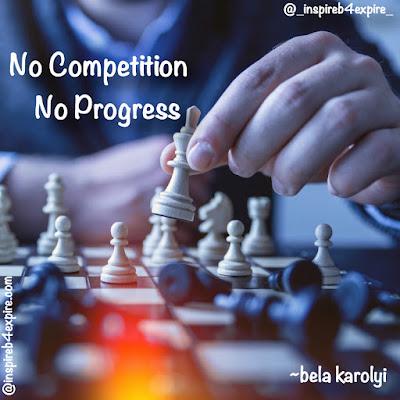 No competition - no progress