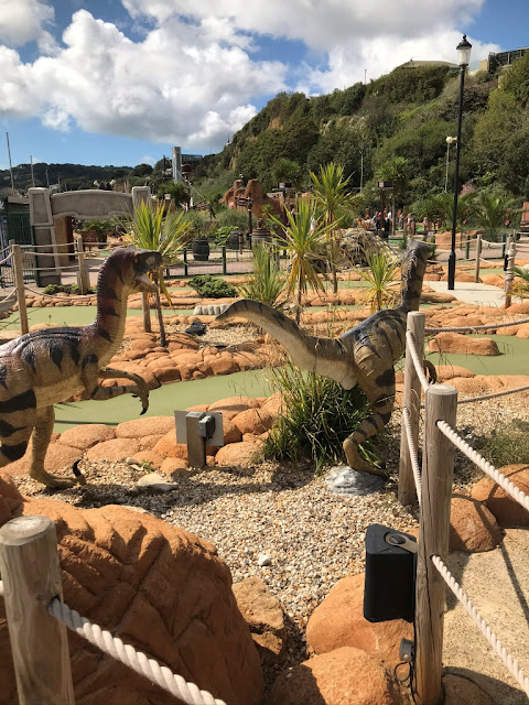 Shanklin Jurassic Bay Adventure Golf, Isle of Wight. Photo by Matt Dodd, July 2020